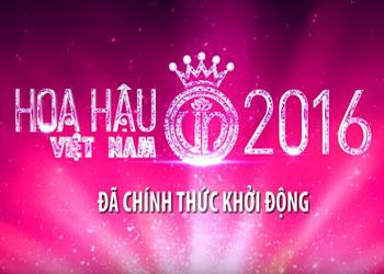 Thông báo tuyển sinh Hoa hậu Việt Nam 2016