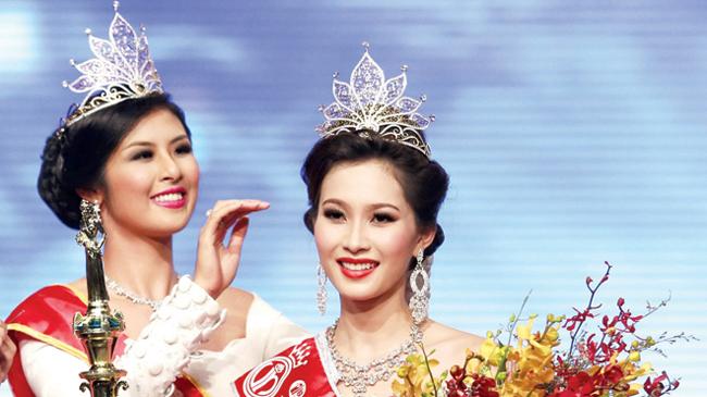 Những câu hỏi thường gặp trong cuộc thi Hoa hậu Việt Nam