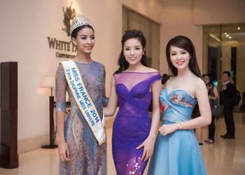 Dàn Hoa hậu, người đẹp tham gia họp báo Hoa hậu Việt Nam 2016