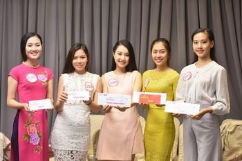 18 thí sinh phía Nam vào vòng Chung kết HHVN 2016 bắt đầu thực hiện dự án nhân ái