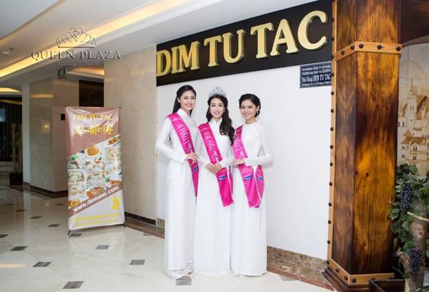 Queen Plaza chào đón top 3 cùng các thí sinh hoa hậu Việt Nam tại nhà hàng Dim Tu Tac