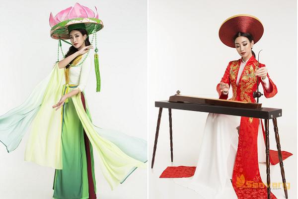 Hé lộ những hình ảnh đẹp lung linh của Mỹ Linh tại hậu trường Miss World 2017