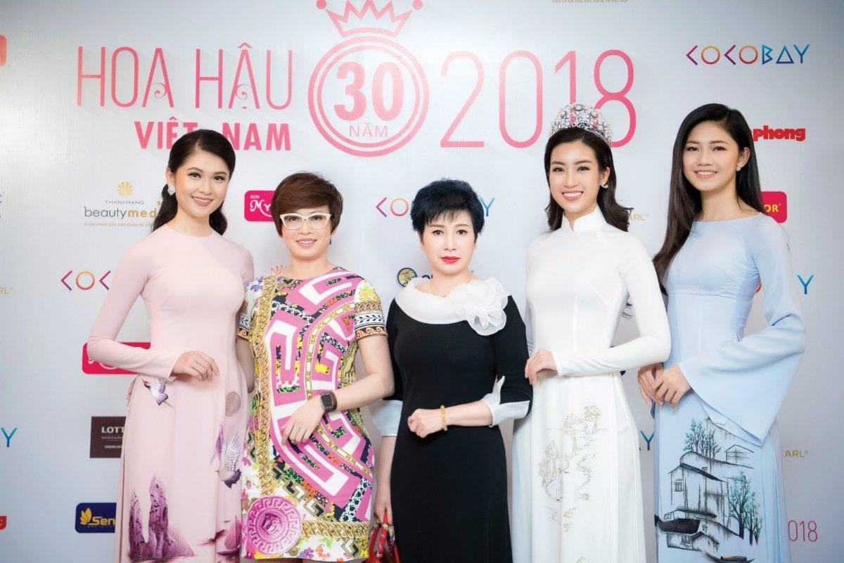Chị Đặng Thanh Hằng – 3 mùa liên tiếp giữ vai trò Cố vấn sắc đẹp Hoa hậu Việt Nam