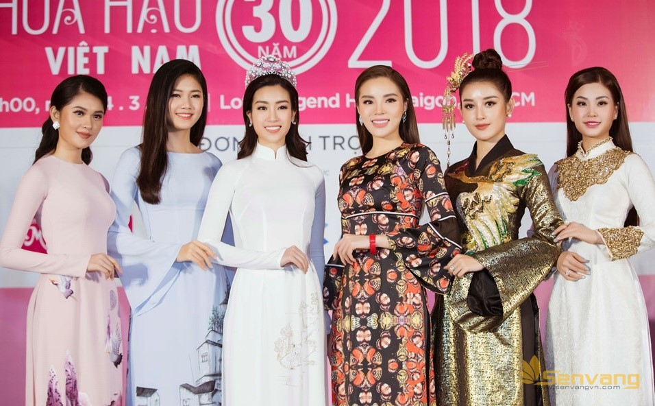 Dàn người đẹp hội ngộ giữa không gian sang chảnh của Lotte Legend Sài Gòn tại họp báo Hoa hậu Việt Nam 2018