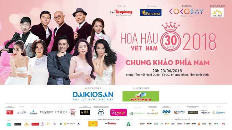 Live: Đêm Chung khảo phía Nam – HHVN 2018