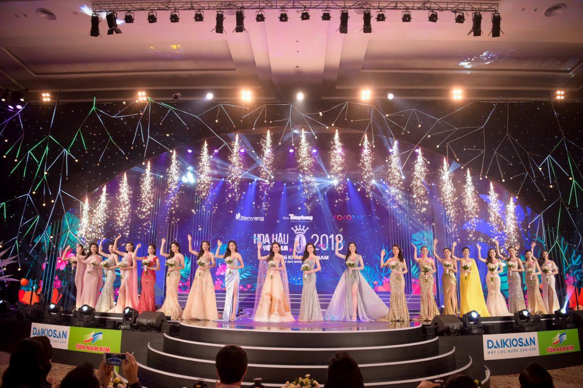 Behind the scenes đêm Chung khảo Phía Nam HHVN 2018