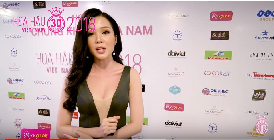 Mê mẩn trước nhan sắc của dàn người đẹp trong họp báo Chung Khảo Phía Nam – Hoa Hậu Việt Nam 2018