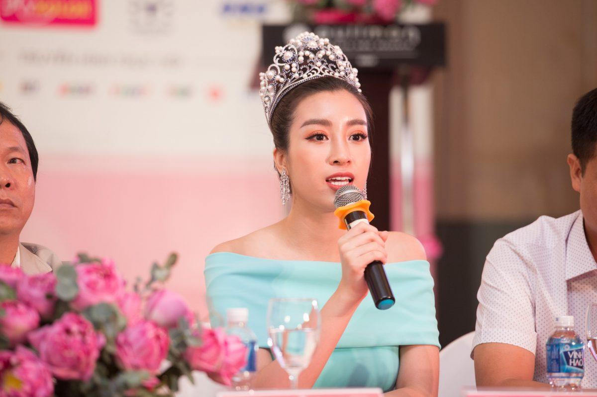 Hoa hậu Đỗ Mỹ Linh chia sẻ cảm nhận khi 'cầm trịch' Người Đẹp Nhân Ái Hoa Hậu Việt Nam 2018