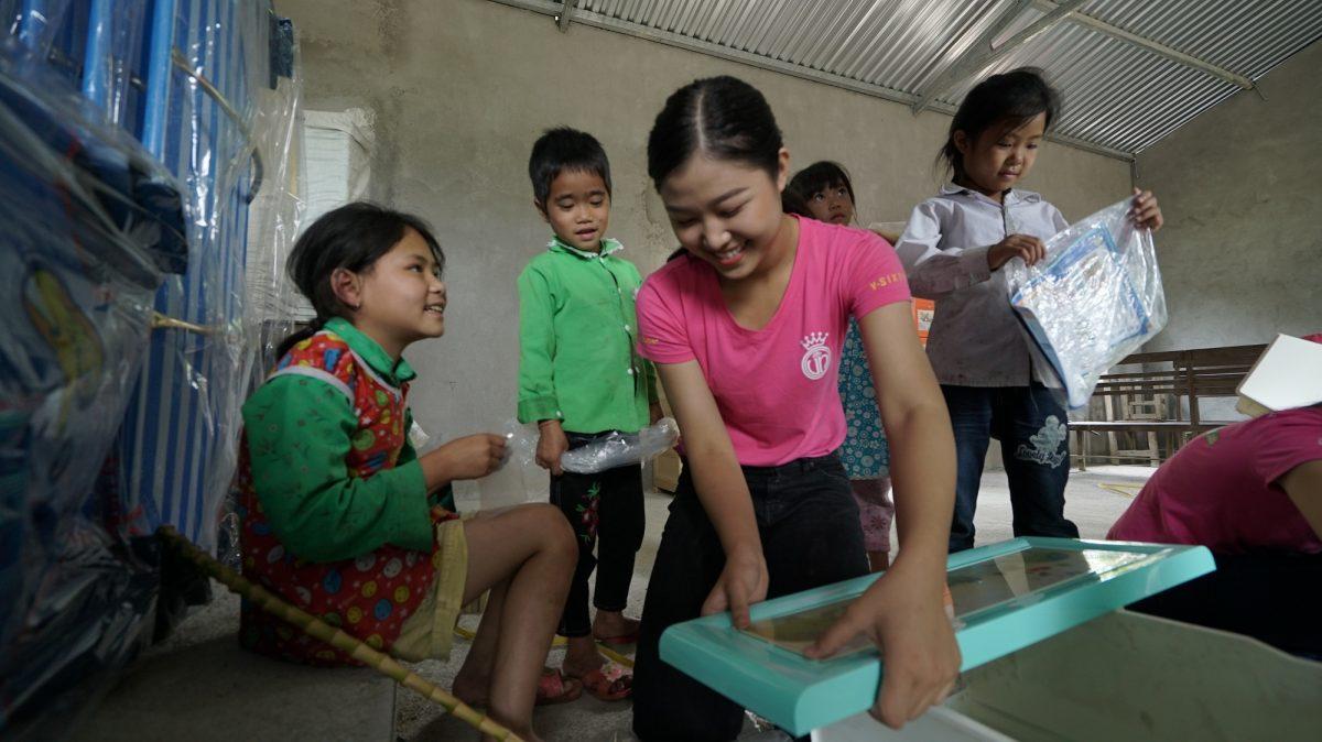 Tập đoàn Hòa Bình vượt ngàn cây số hỗ trợ thí sinh HHVN xây trường mầm non vùng biên giới