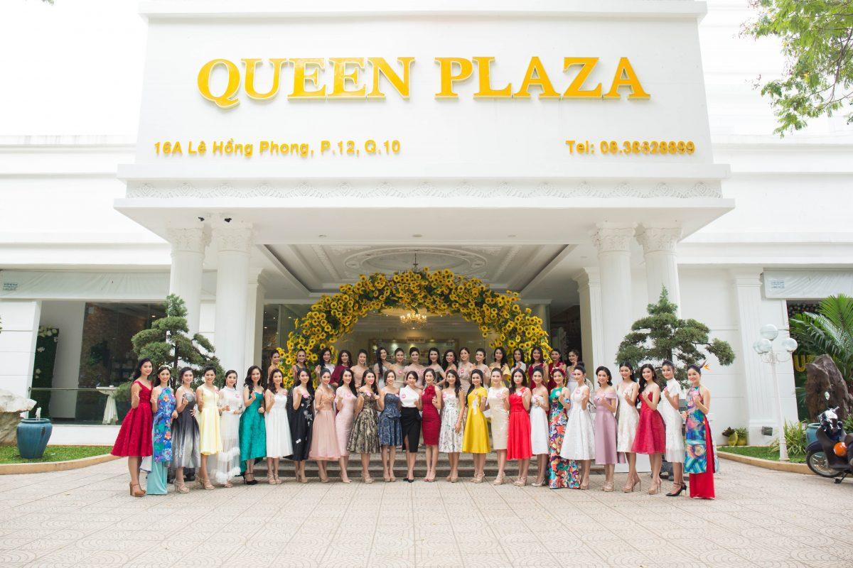 Queen Plaza – Đơn vị đồng hành cùng Hoa hậu Việt Nam 2018