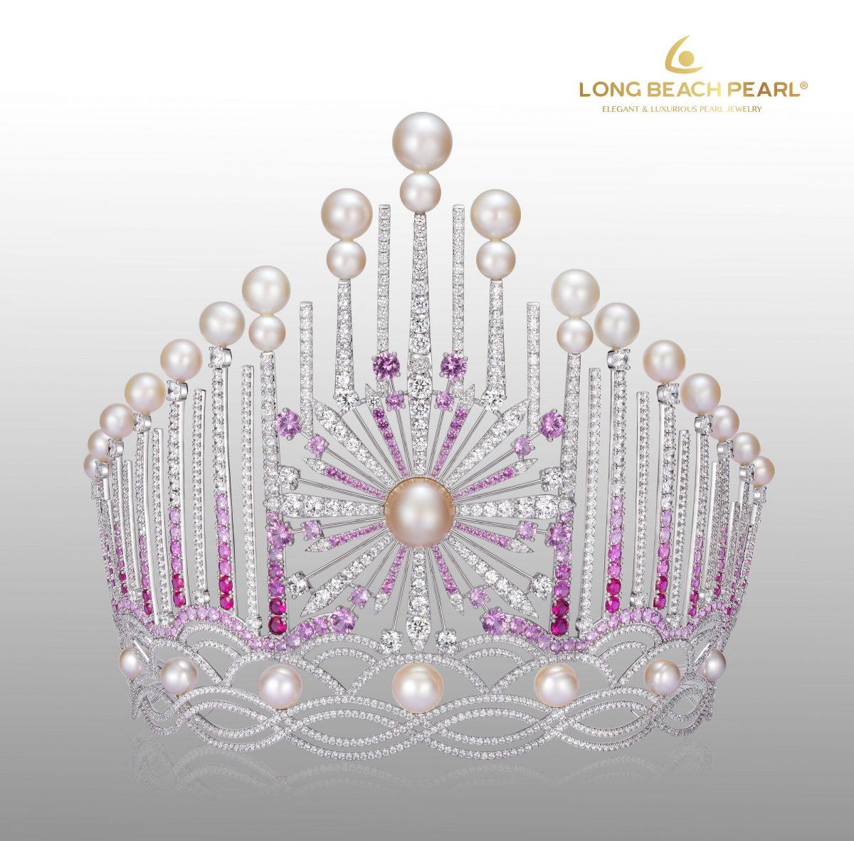 Lộ diện vẻ đẹp lộng lẫy của chiếc vương miện HHVN 2018 được chế tác từ Long Beach Pearl