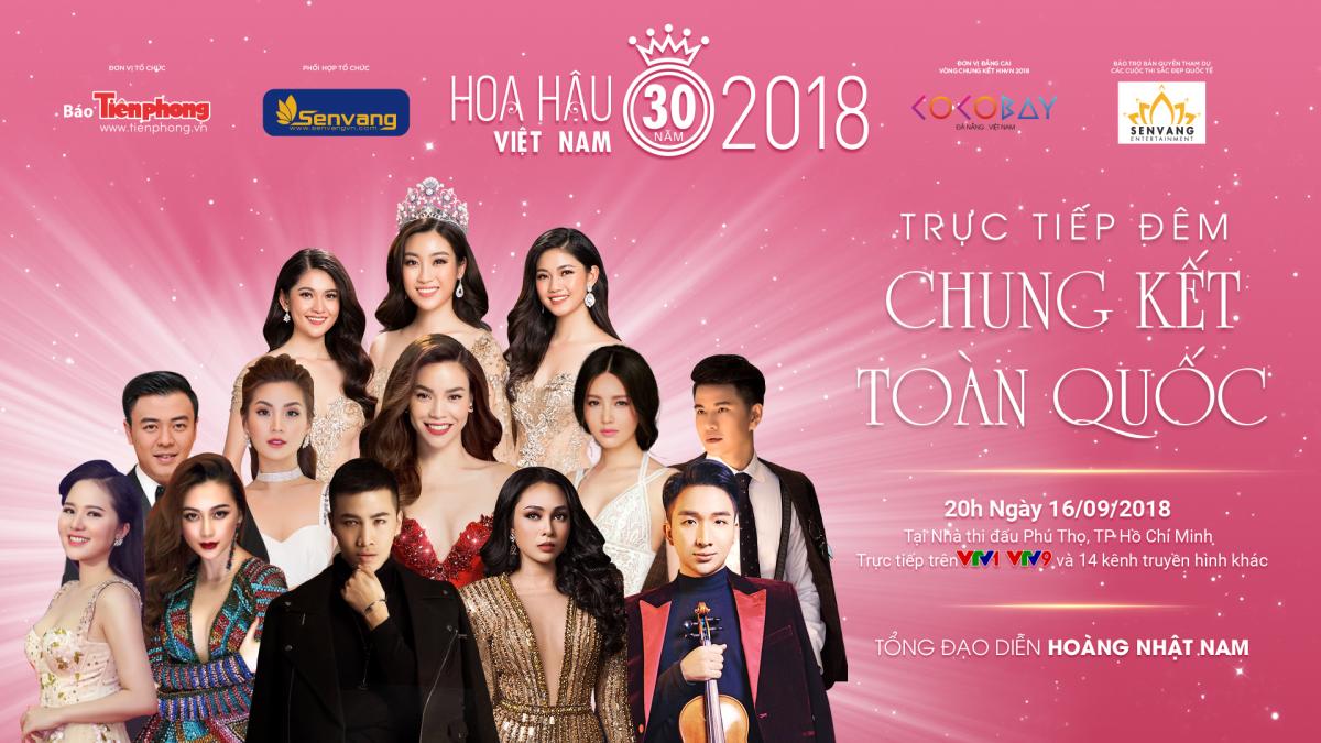 TRỰC TIẾP CHUNG KẾT TOÀN QUỐC HOA HẬU VIỆT NAM 2018