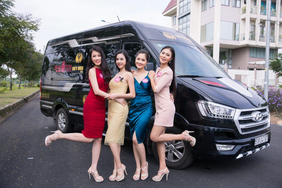 Nhìn lại hình ảnh Top 43 Hoa hậu Việt Nam 2018 xinh đẹp rạng ngời trong trang phục thời trang