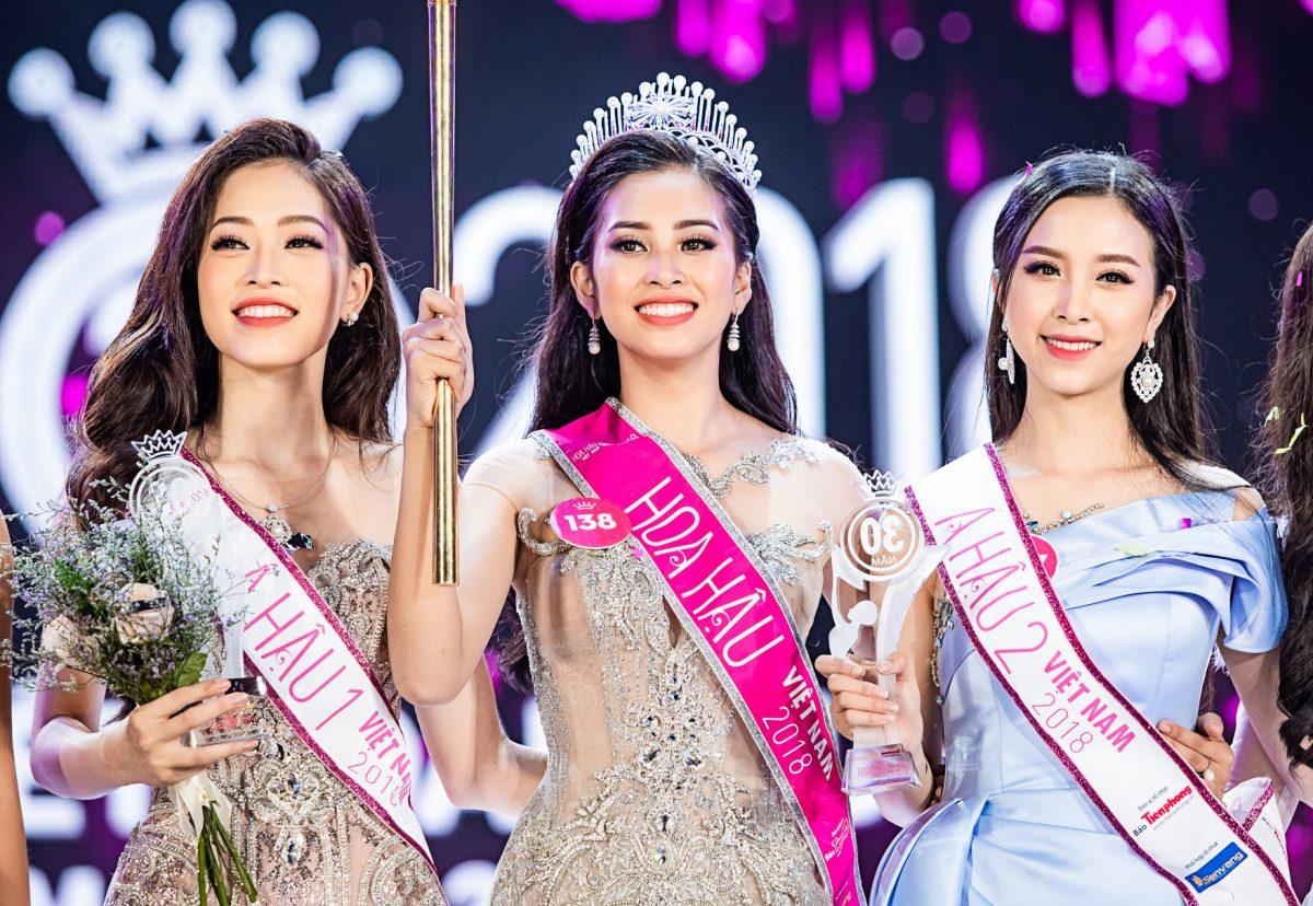 Ấn tượng Top 3 Hoa hậu Việt Nam 2018: Mỗi bông hoa, một sắc màu