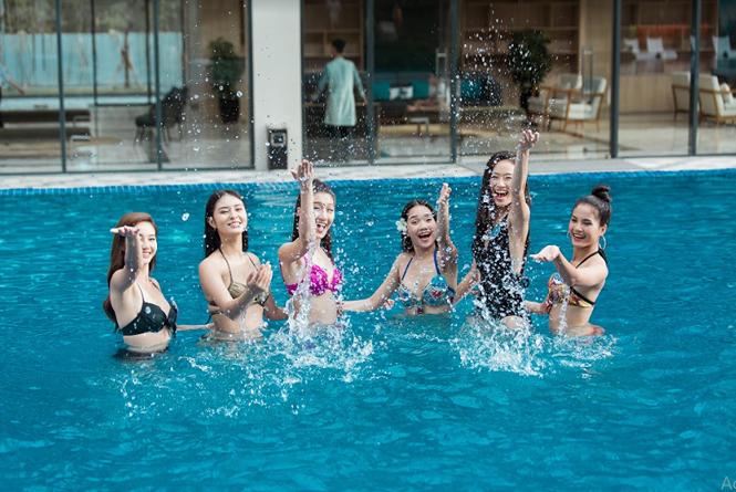 """""""Ngôi nhà chung"""" tại vòng chung kết toàn quốc của các cô gái Miss World Vietnam 2019 có gì?"""