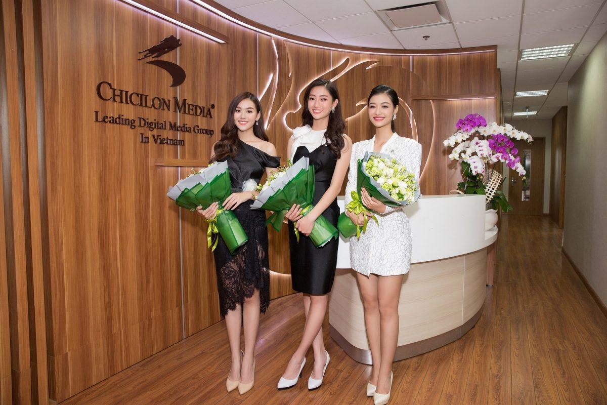 Sau đăng quang – Top 3 Miss World Vietnam bận rộn với lịch trình nhưng vẫn tươi tắn, rạng rỡ