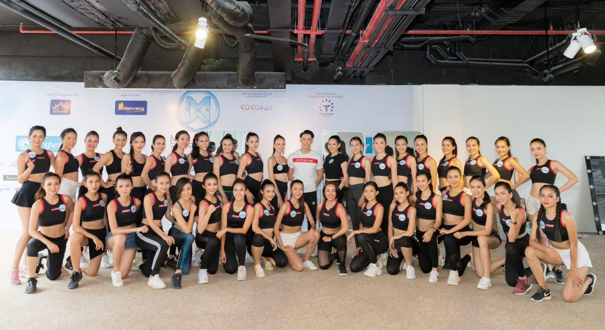 Các thí sinh Miss World Vietnam 2019 gấp rút tập luyện cho đêm chung kết toàn quốc