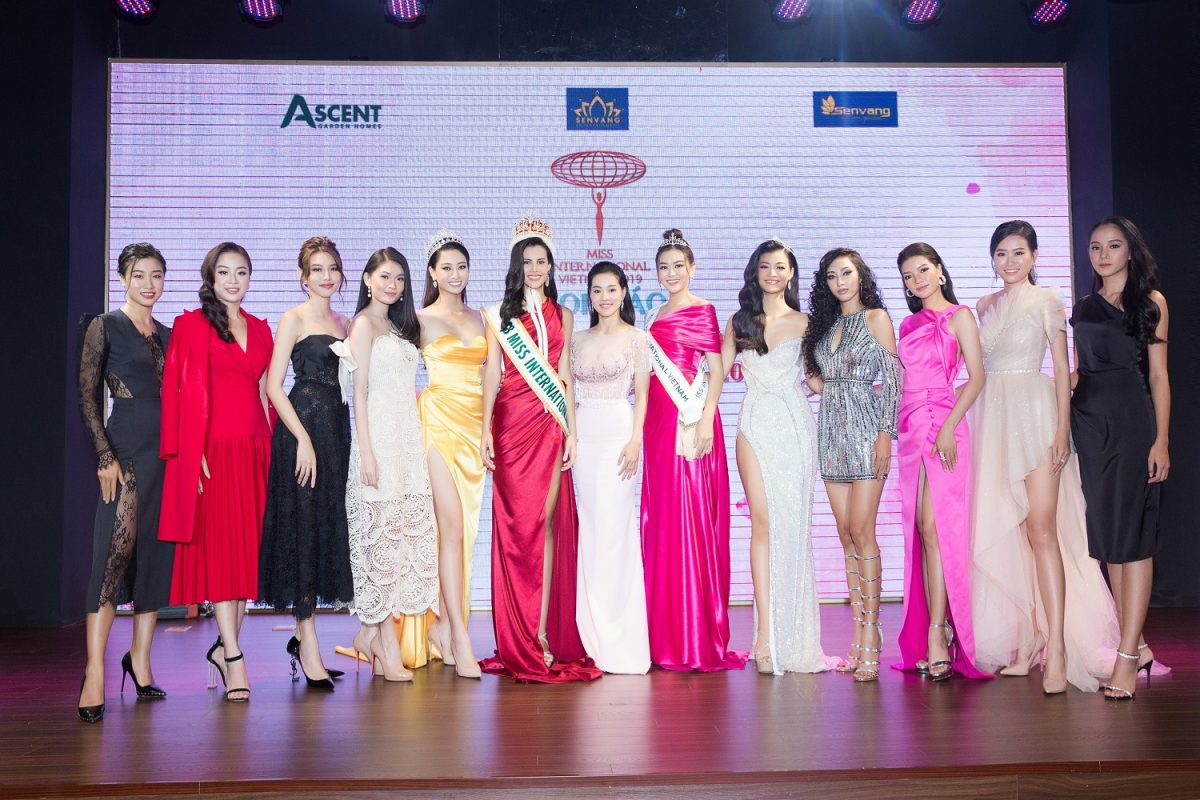 Toàn cảnh họp báo công bố đại diện Việt Nam tham dự cuộc thi nhan sắc lớn thứ 3 thế giới – Miss International 2019