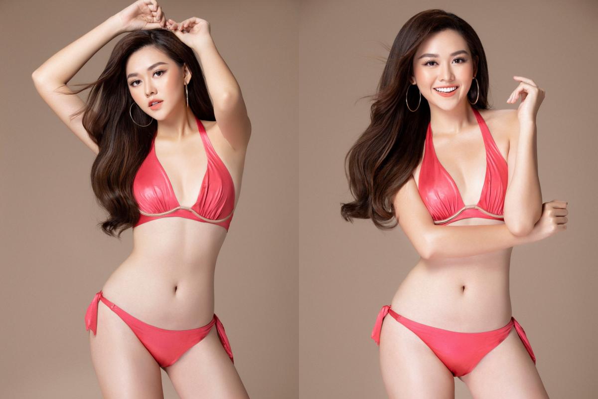 Á hậu Tường San khoe body mướt mắt với bikini bốc lửa trước thềm chinh chiến Miss International 2019