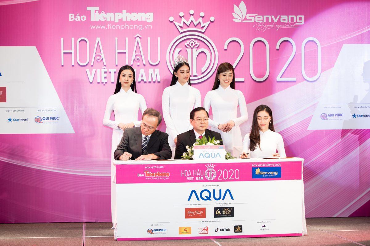 AQUA Việt Nam chính thức trở thành Nhà tài trợ Kim cương Hoa hậu Việt Nam 2020