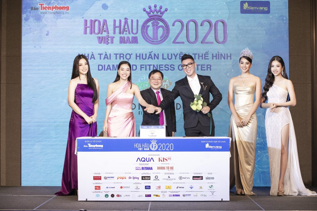 DIAMOND FITNESS – Nhà tài trợ Huấn luyện Thể hình Hoa hậu Việt Nam 2020