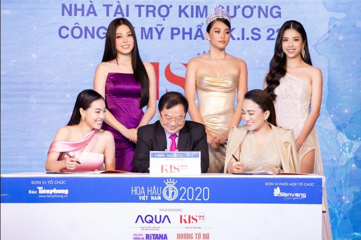 KIS22 chính thức trở thành Nhà tài trợ Kim cương cuộc thi Hoa hậu Việt Nam 2020
