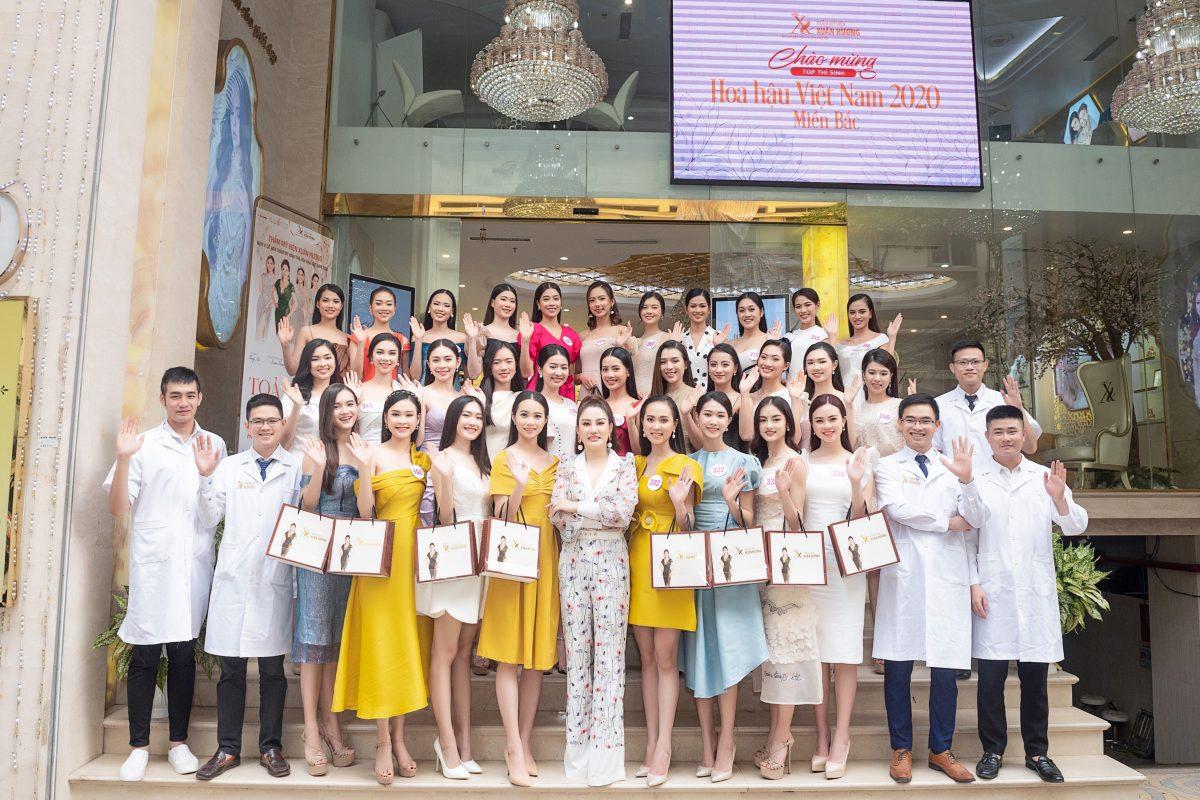 Top thí sinh miền Bắc Hoa hậu Việt Nam 2020 đẹp rạng ngời cùng TMV Xuân Hương