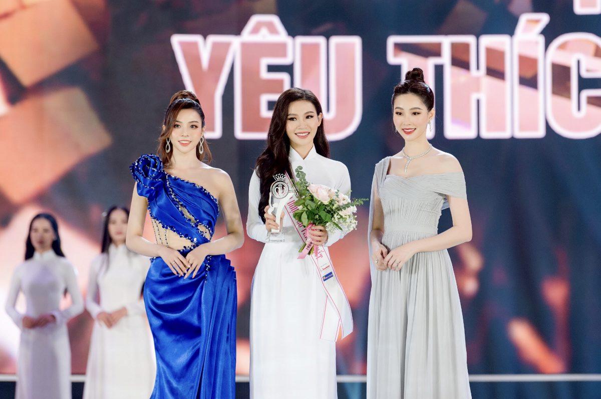 """Đậu Hải Minh Anh: """"Giải thưởng Người đẹp được yêu thích nhất Hoa Hậu Việt Nam 2020 là dấu mốc đáng nhớ trong cuộc đời tôi"""""""