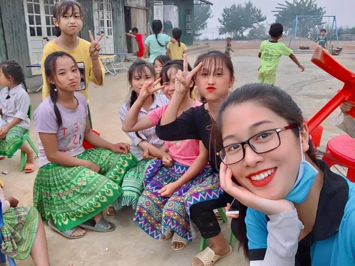 Đặng Vân Ly, top 10 Hoa hậu Việt Nam: Nhiệt huyết của tuổi thanh niên nối dài các dự án thiện nguyện