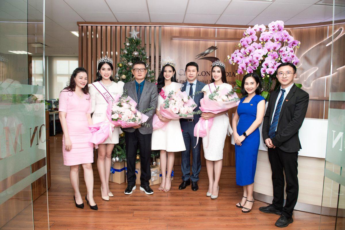 TOP 3 HOA HẬU VIỆT NAM 2020 GIAO LƯU CÙNG CHICILON MEDIA